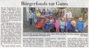 Spende Bürgerfonds Blickpunkt Elz